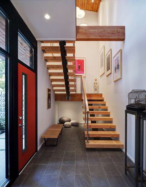 Midvale Courtyard House contemporary-entry