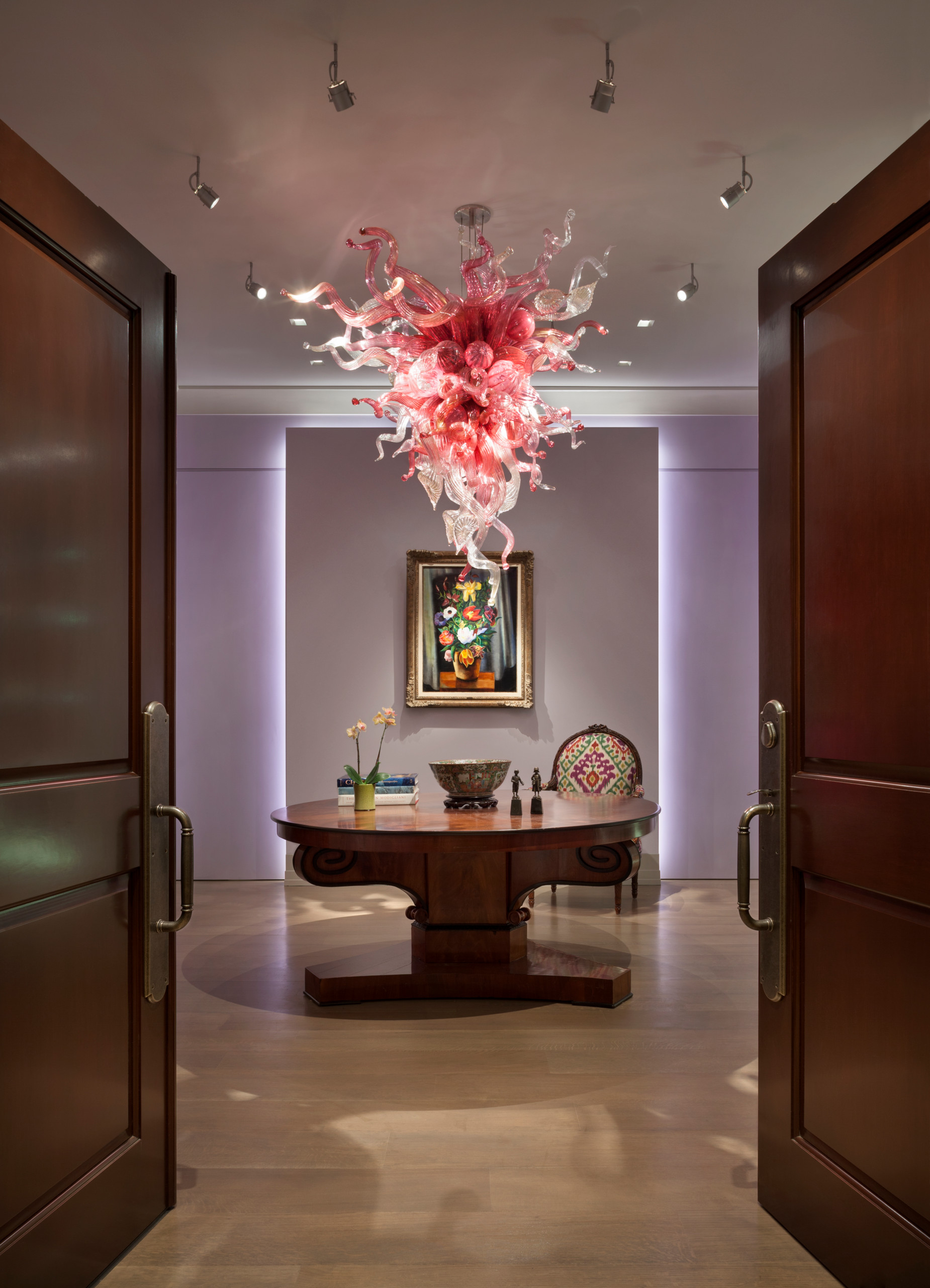 Chihuly Lighting Houzz, Chihuly Like Chandeliers