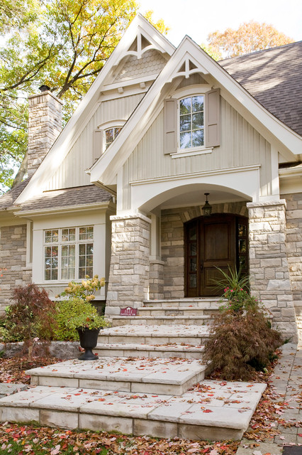 Mineola Cottage Craftsman Entry Toronto By David