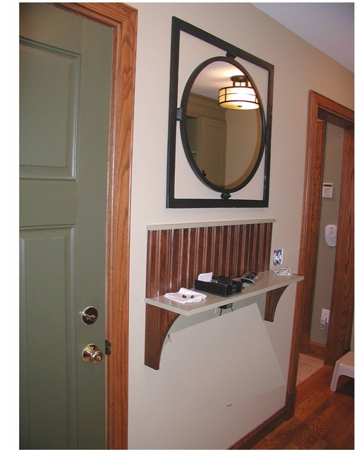 Mission: Mud Room traditional entry