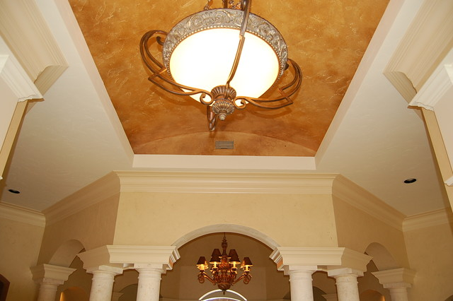 Inspiration for a timeless foyer remodel in Austin