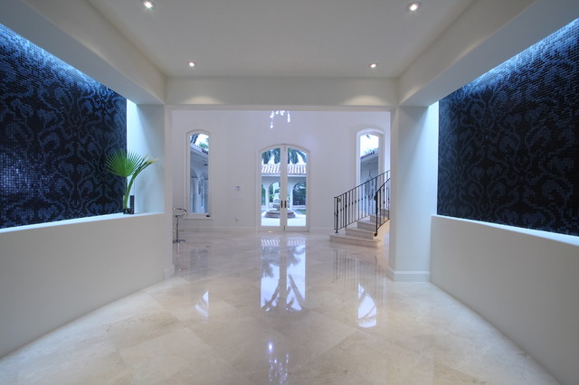 Crema Marfil Marble Floors Houzz