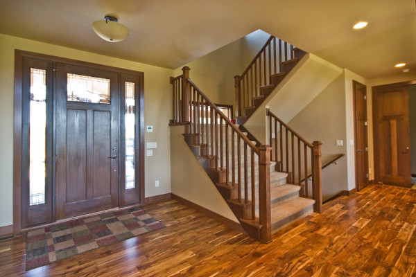 Modern-Contemporay Home traditional-entry
