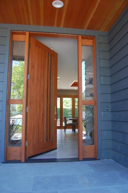 Modern Craftsman Home Contemporary Entry San