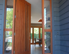 Modern Craftsman Home contemporary-entry