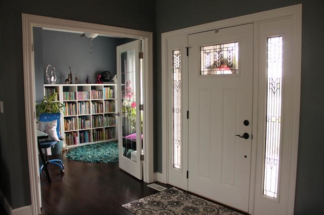 Modern Craftsman Style Home craftsman-entry