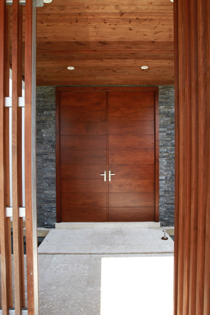 Modern Doors - Contemporary - Entry - Other - by Borano