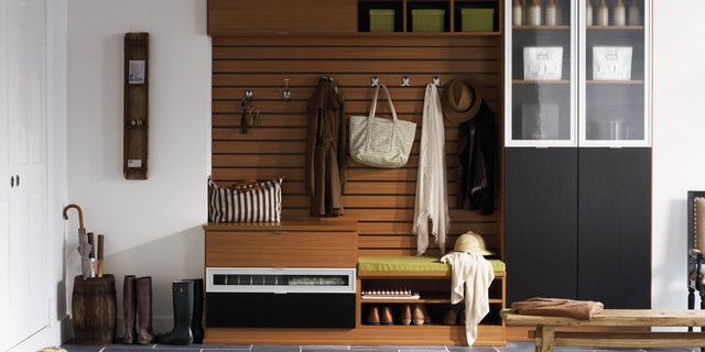 Entryway - modern - entry - miami - by California Closets Fort