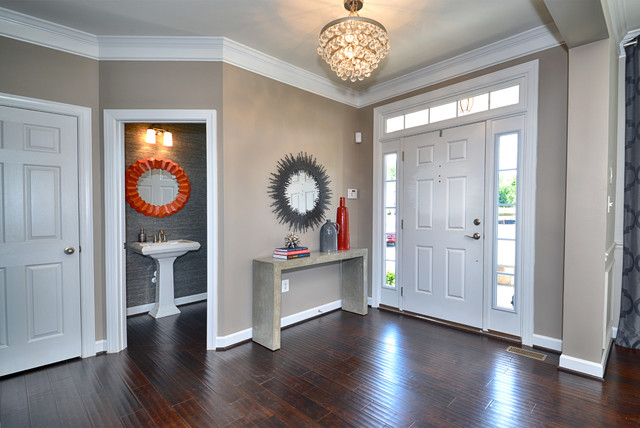 Modern Foyer Design : Modern entryway entry dc metro by domain design