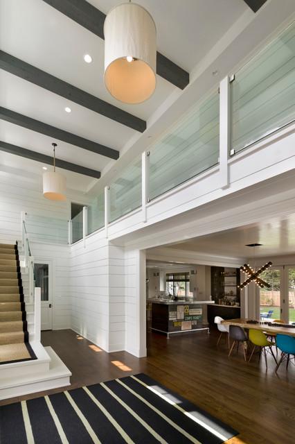 Foyer Ceiling Questions : Modern farmhouse foyer entry new york by