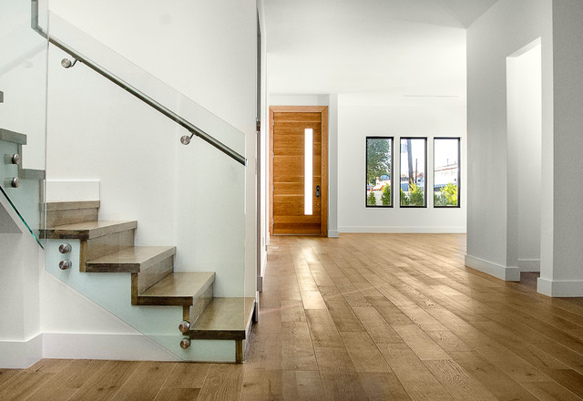 Modern Home in Sherman Oaks contemporary-entry