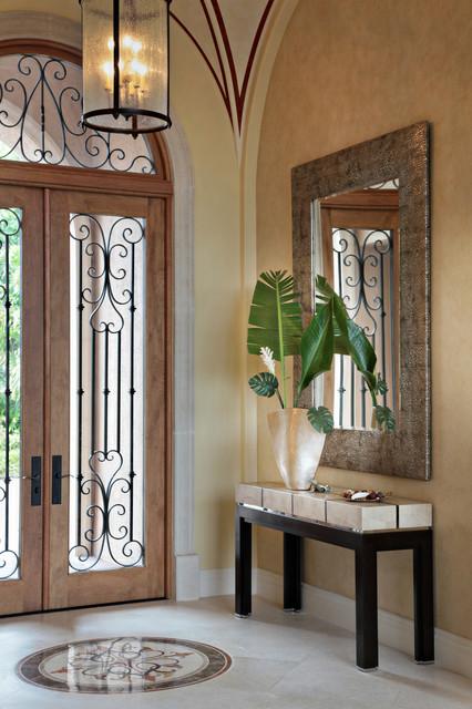 Modern Mediterranean Mediterranean Entry Other By Jma Interior Design