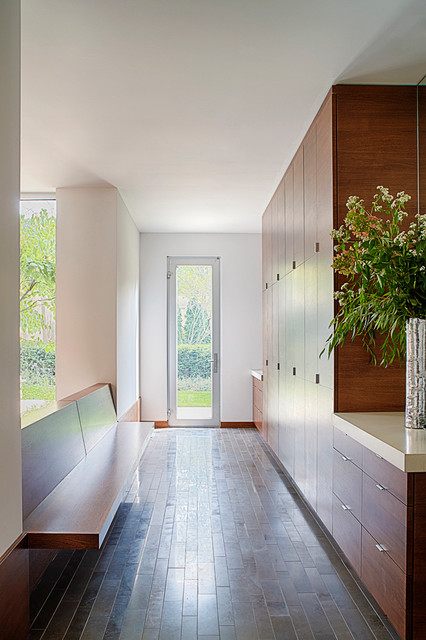 Modern Foyer Houzz : Modern mud room entry chicago by michael