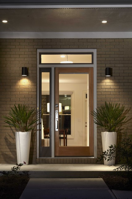 Modern Prairie Front Door Contemporary Entry Atlanta By Epic Develo