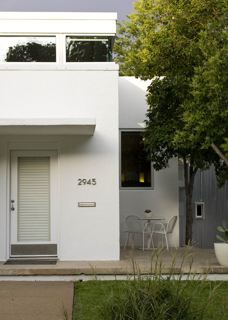 Modern Remodel and Addition midcentury-entry
