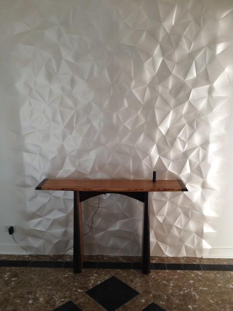 Modular art panels modern-entry