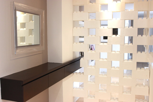 Modular Walls Contemporary Entry New York By