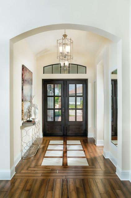 Montecito Model Home Interior Decoration   1269 Contemporary Entry