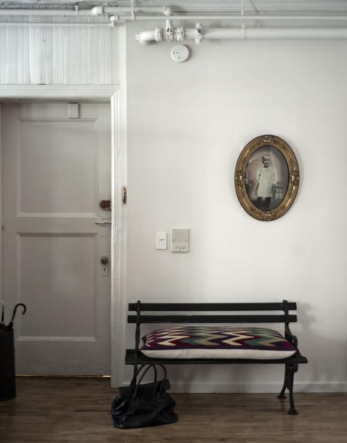 Modern SoHo loft eclectic-entry