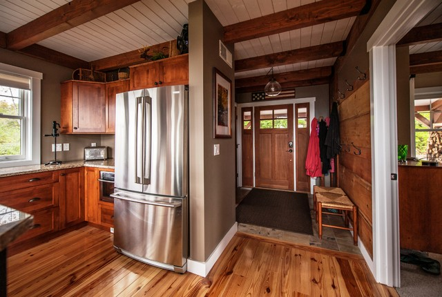 Moose Ridge Lodge Post And Beam Rustic Entry Other
