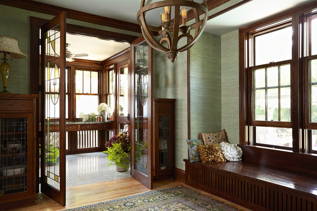 Morningside Bungalow Craftsman Entry Minneapolis