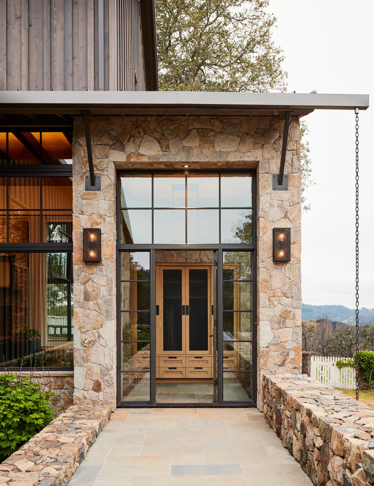 Inspiration for a cottage entryway remodel in San Francisco