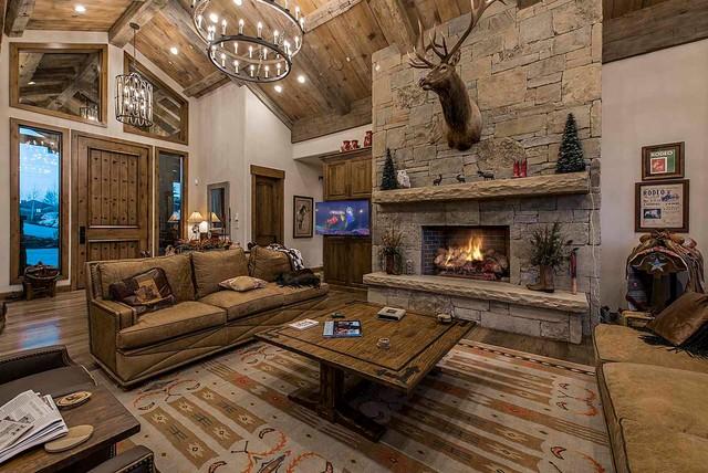 Mountain Rustic Home In Glenwild Park City Utah