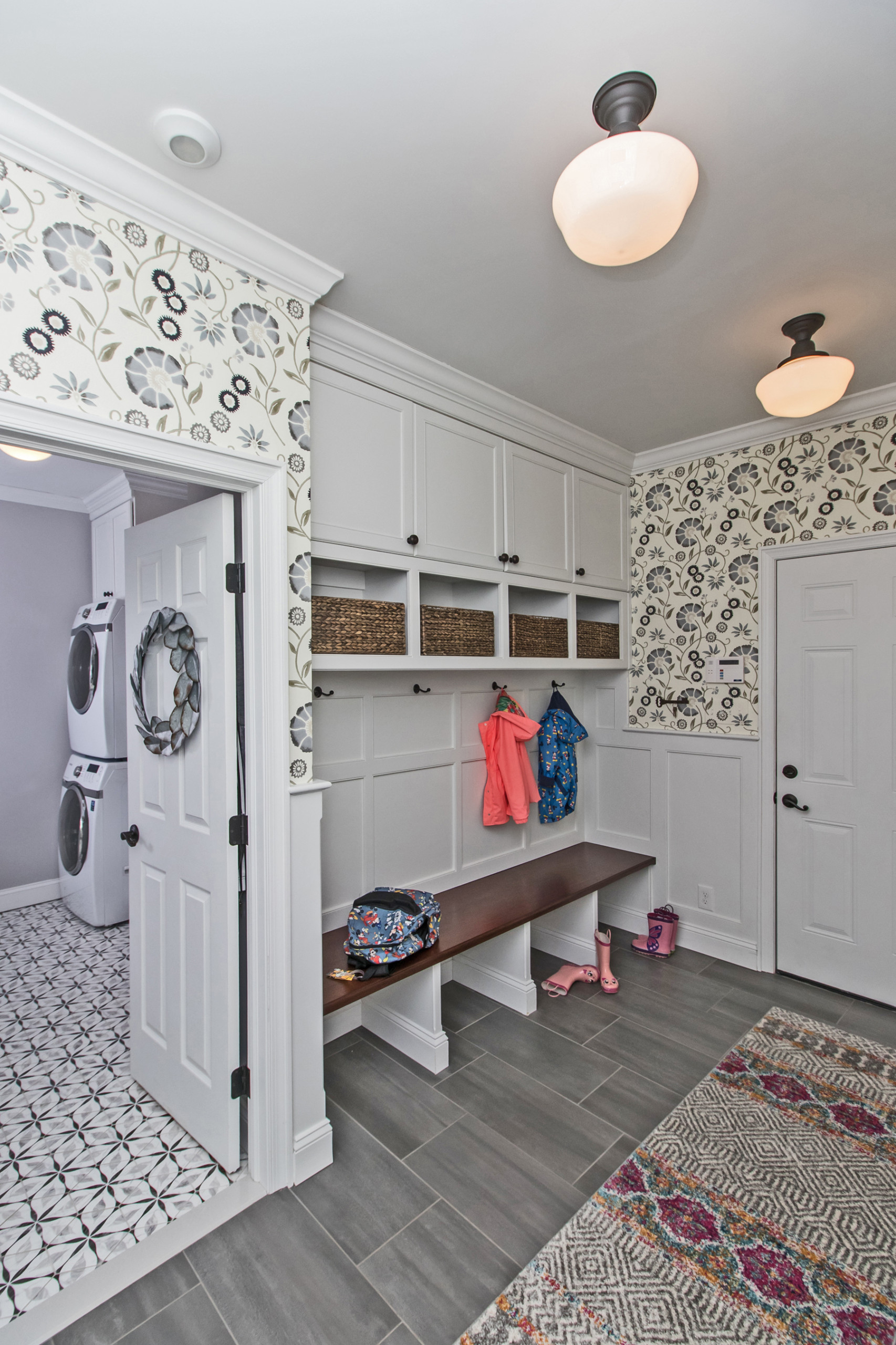 Mud Room & Laundry Room