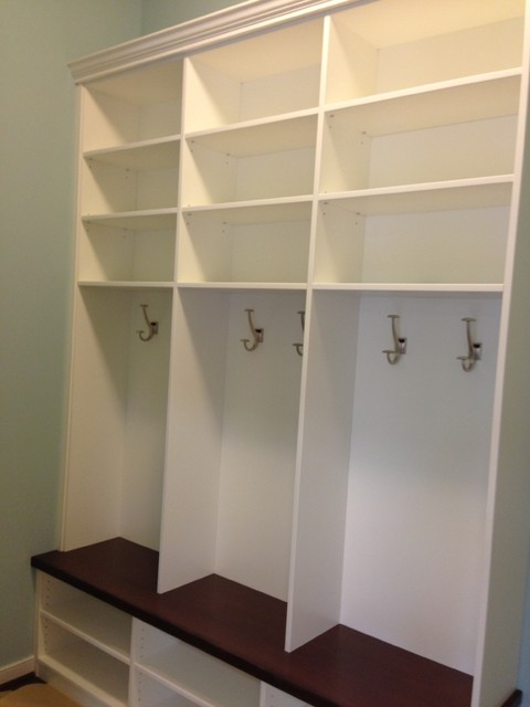 Mud Room Cubbies - Traditional - Entry - Richmond - by Closet Factory