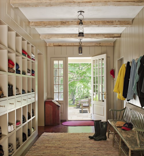 Functional mudroom