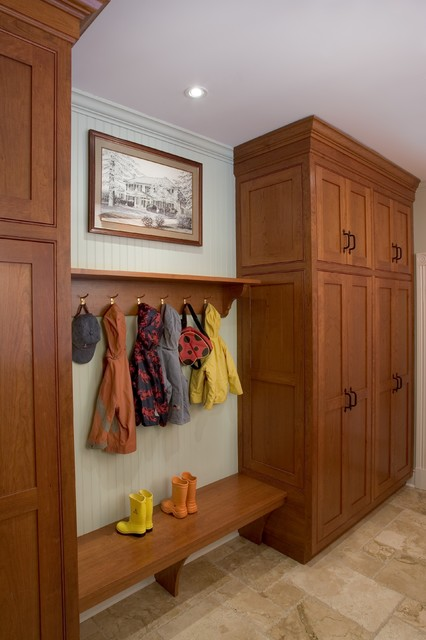 Mud Room Laundry Room Traditional Entry New York