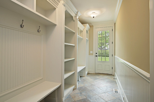 Mud Room Traditional Entry Chicago By Mandy Brown
