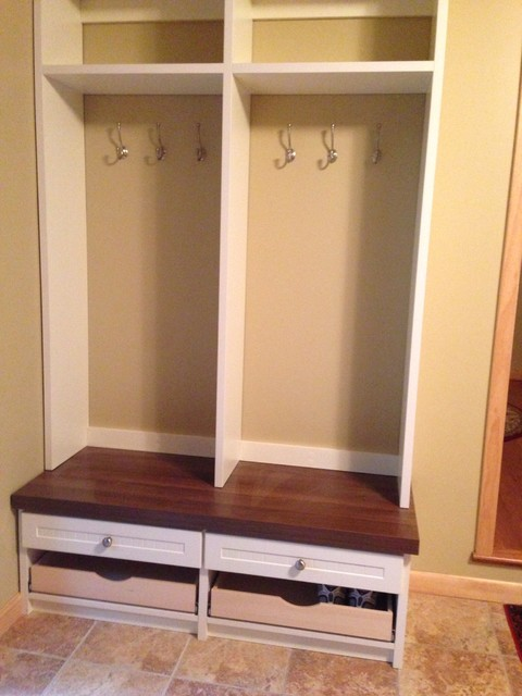 Mud Room Storage System Rustic Entry Other Metro