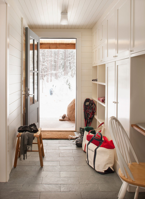 Mud Room traditional-entry