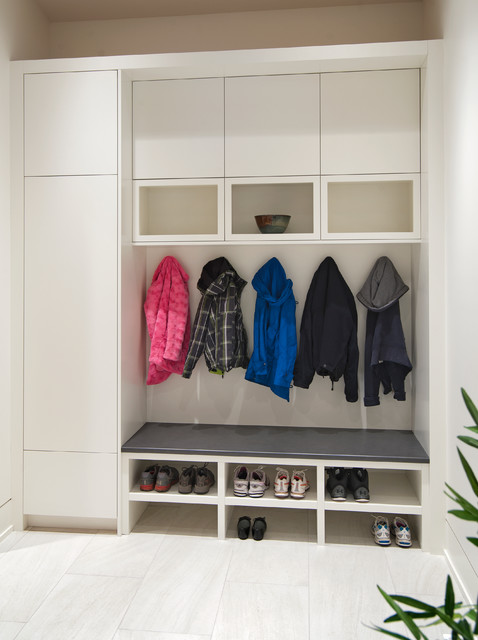 Mudroom Benchcontemporary Entry Vancouver
