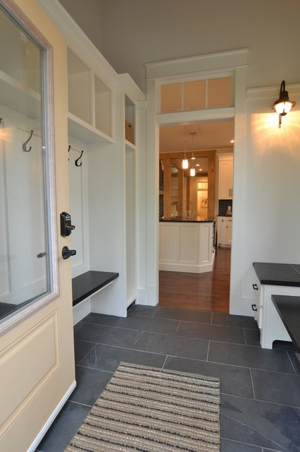 Mudroom for Entrance flooring ideas