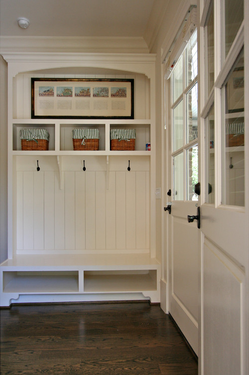 Mudroom Entry traditional entry