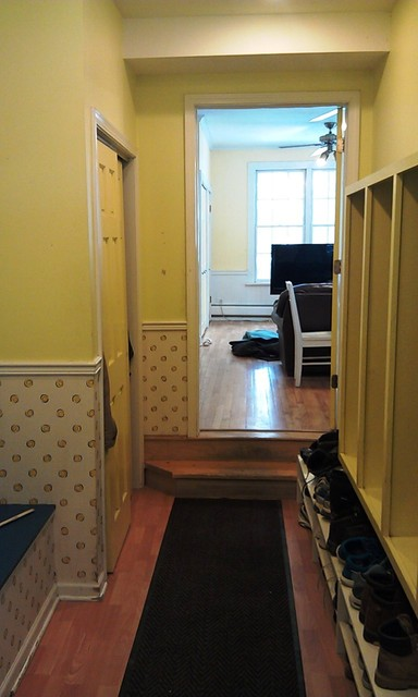 Mudroom/entry makeover traditional entry