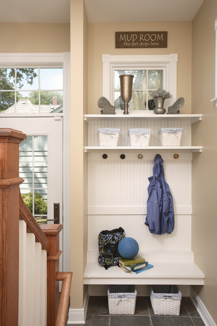 Mudroom Entry Traditional Entry Chicago By