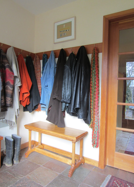 Mudroom eclectic-entry