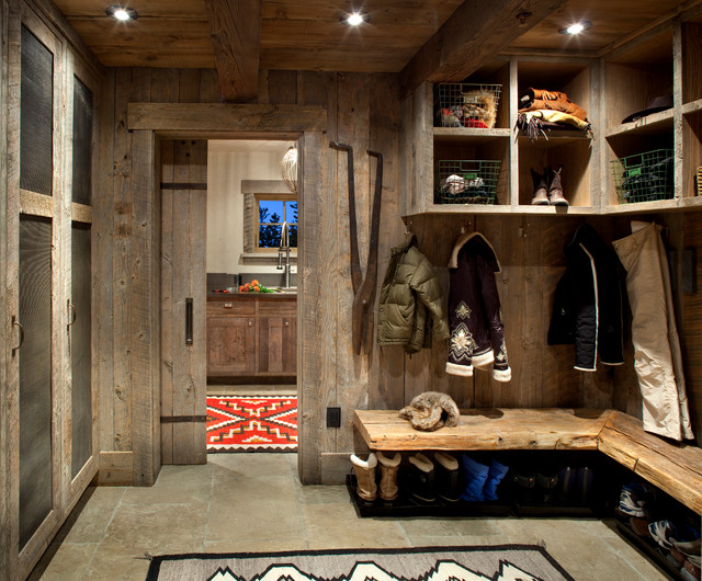 Mudroom Design Ideas 1000 images about mudroom ideas on pinterest mud rooms benches and laundry rooms Inspiration For A Rustic Entryway Remodel