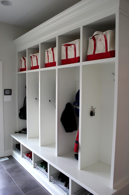 Mudroom Lockers Traditional Entry Chicago By Great