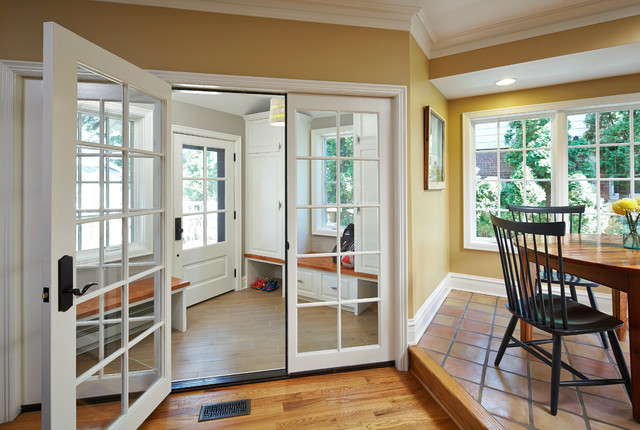 Mudroom Makeover traditional-entry
