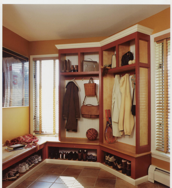 Mudroom contemporary-entry