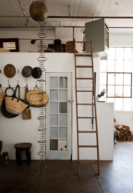 My Houzz: International Meets Industrial in a Brooklyn Loft industrial-entry