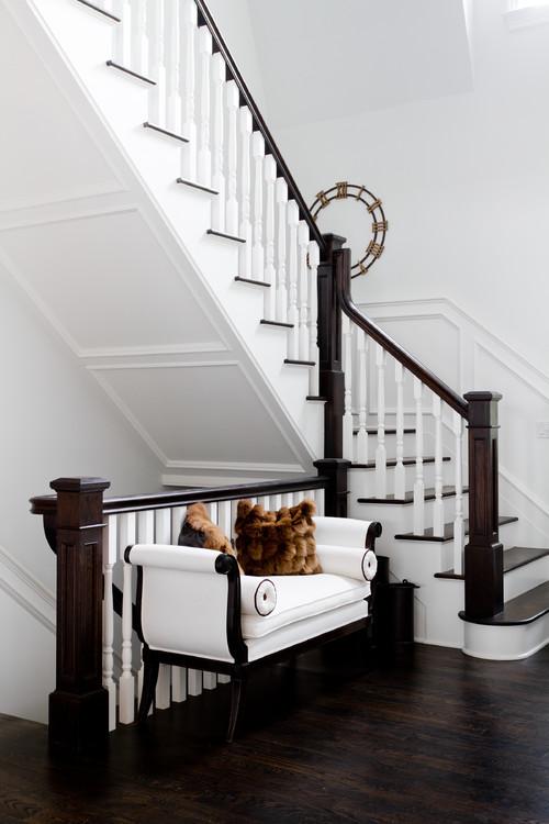 escaleras en casas bonitas
