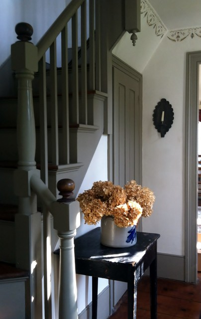 My New England Colonial Farmhouse Entry Boston By