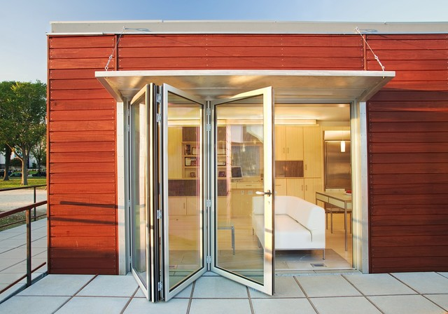 Nanawall Folding Doors modern-entry