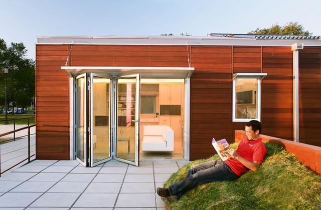 Nanawall Folding Doors modern-entry