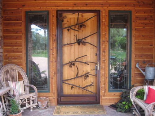 Natural Living Doors Rustic Entry Salt Lake City